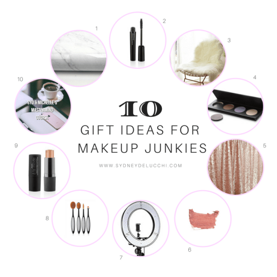 makeup obsessed gift ideas mua