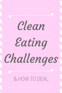 clean eating challenge tips