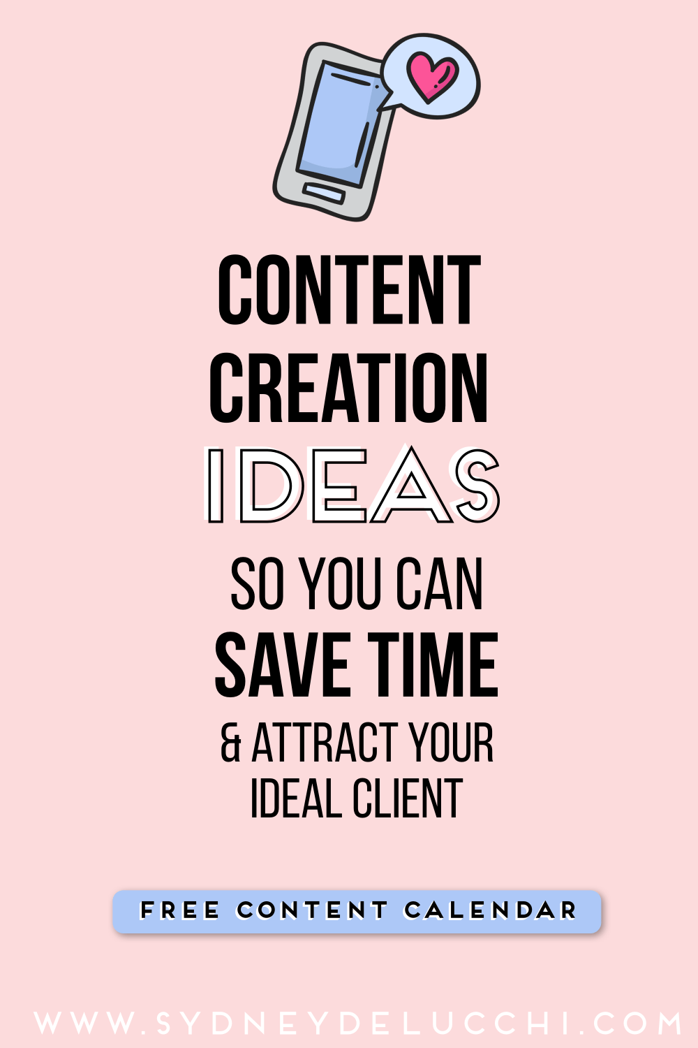 content creation ideas from sydney delucchi