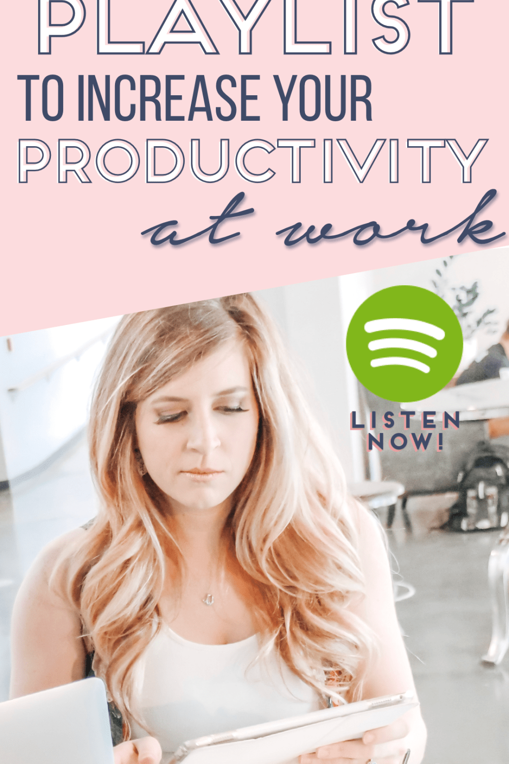 productivity playlist for work