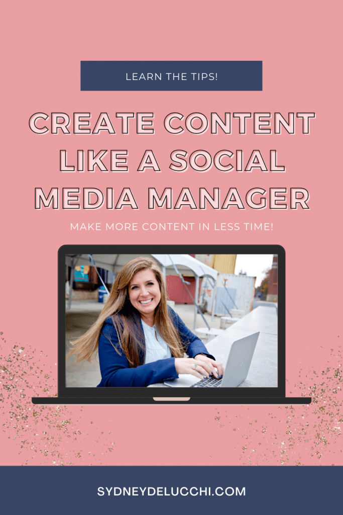 Create more content in less time with the 3Vs method to repurposing content.  Tips straight from a professional Social Media Marketing Manager