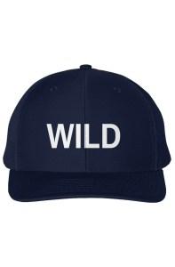 WILD Embroidered Snapback Trucker Cap
