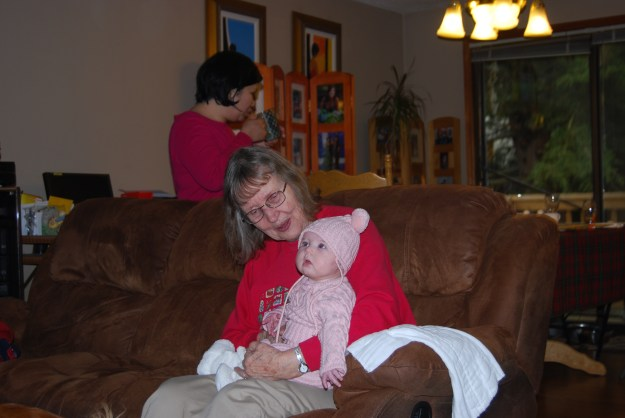 Grandmother Wright with Sydney