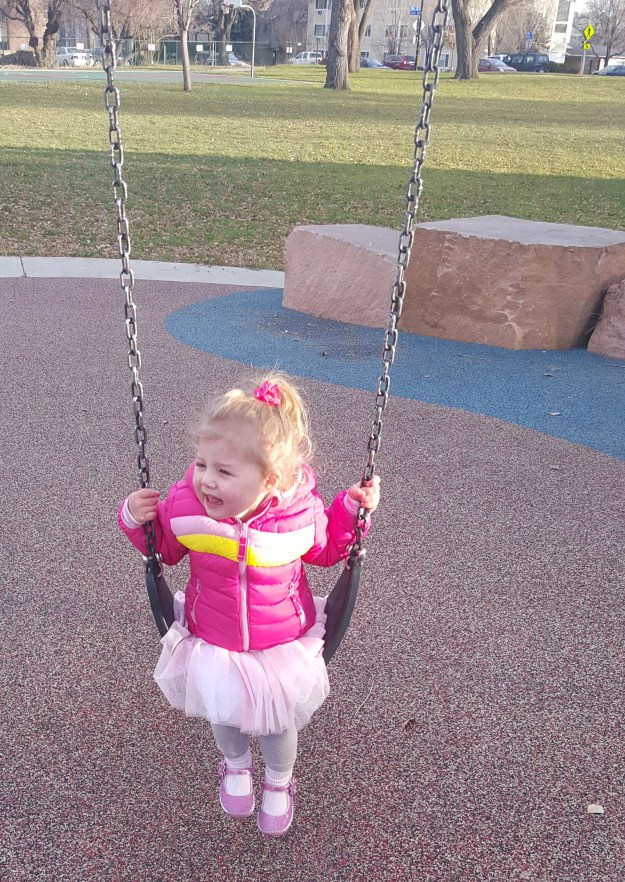 Swinging and singing