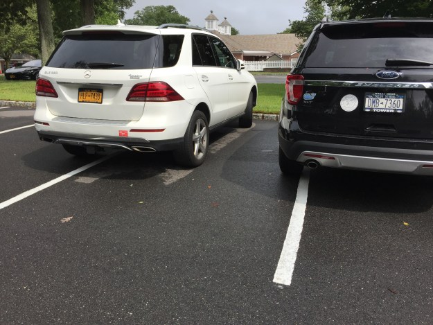 The me-first parking at Green Vale School