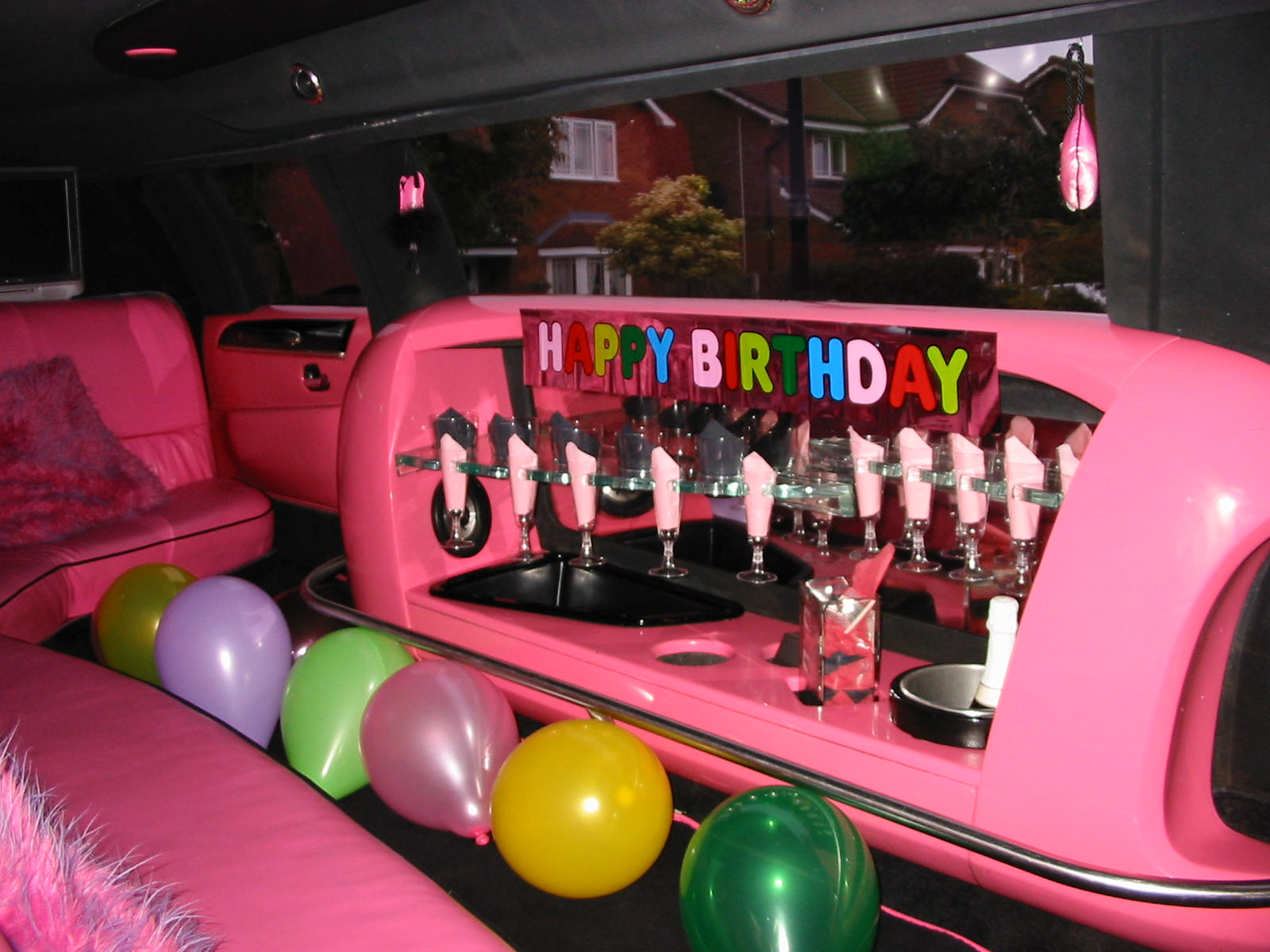 birthdays party limos