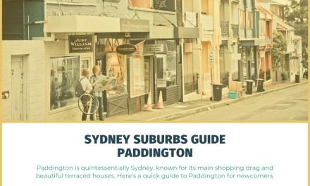 Sydney Suburbs Guide: Paddington