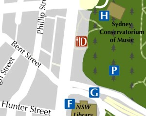 Free Sydney Walking Tour Map Insert