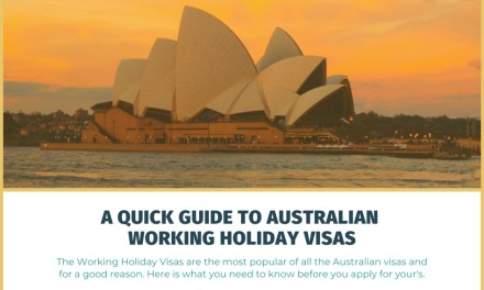 A Quick Guide to Australia's Working Holiday Visas
