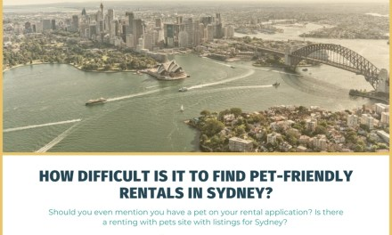 How Difficult Is It to Find Pet-Friendly Rentals in Sydney?