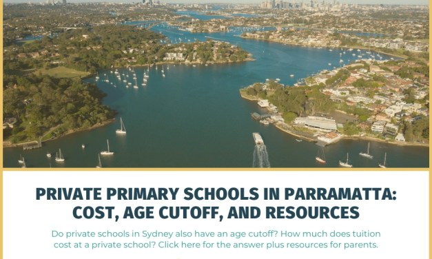 Private Primary Schools in Parramatta: Cost, Age Cutoff and Resources