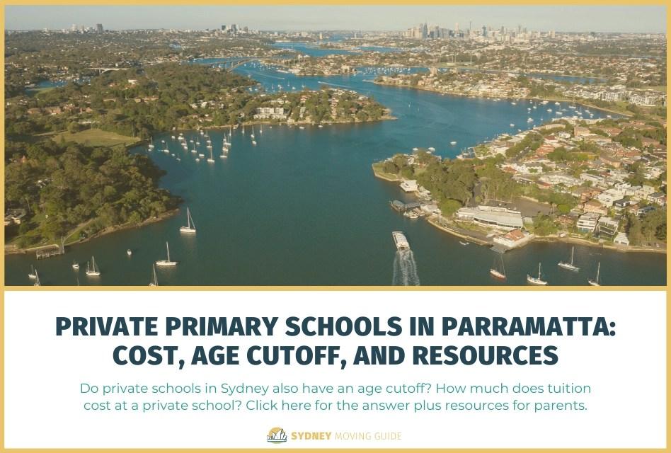 Private Primary Schools in Parramatta: Cost, Age Cutoff and Resources