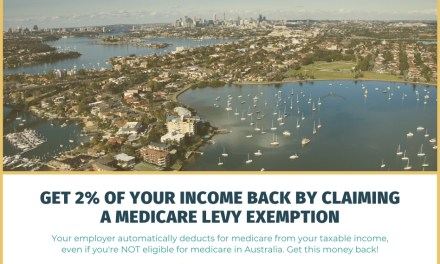 Get 2% of Your Income Back By Claiming a Medicare Levy Exemption