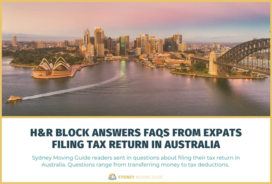 H&R Block Answers FAQs from Expats Filing Tax Return in Australia