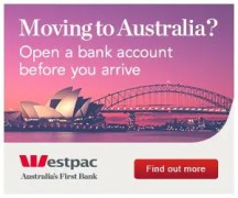 Westpac Bank for People Moving to Australia