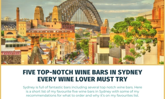 The Five Best Wine Bars in Sydney Every Wine Lover Must Try