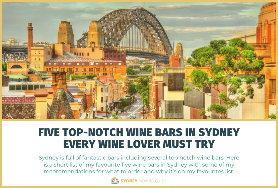 Five Top-Notch Wine Bars in Sydney Every Wine Lover Must Try