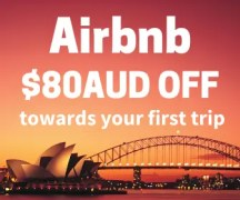 Airbnb $80 Off Your First Trip