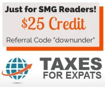 Taxes for US Expats Living in Australia: $25 Credit Towards Tax Services