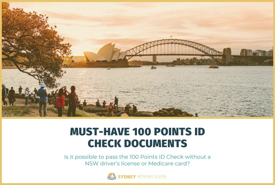 How to Pass 100 Points ID Check Without a NSW Driver's License or Medicare Card