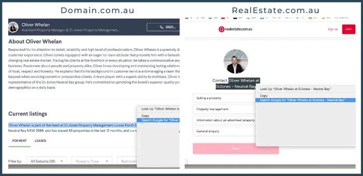 Real Estate Agent Neutral Bay Sydney