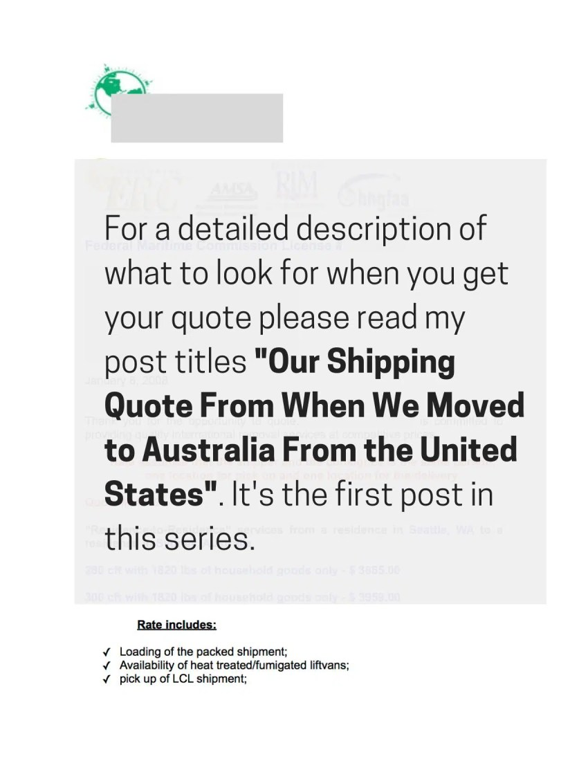 Moving to Australia From the USA