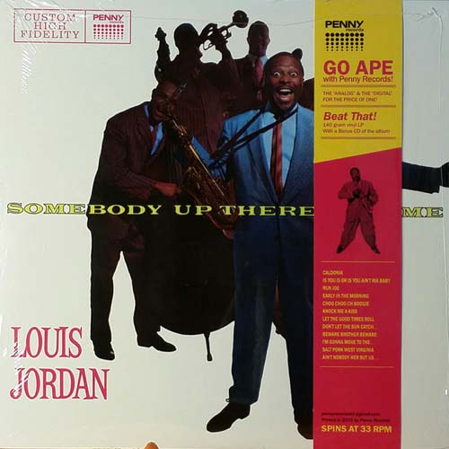 Louis Jordan - Somebody Up There