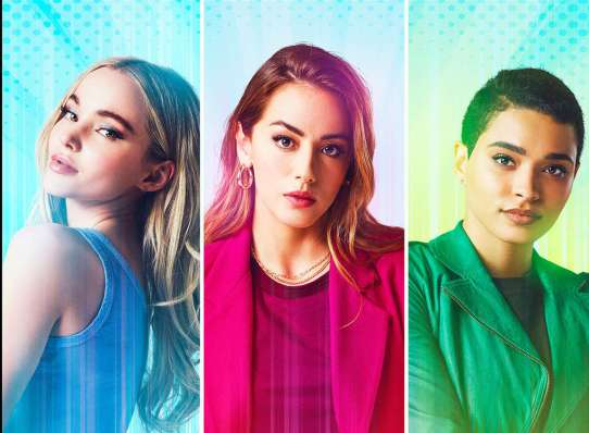 S.H.I.E.L.D.'s Chloe Bennet's superhero first look at The CW's Powerpuff  Girls