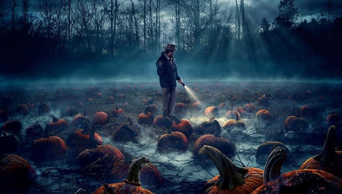 Image result for stranger things 2 pumpkin patch