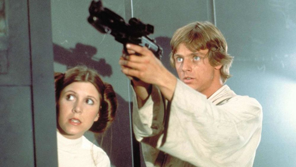 Image result for luke and leia a new hope