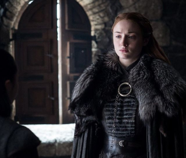 Sansa Stink Sophie Turner Was Forbidden To Wash Her Hair For Game Of Thrones Later Seasons Syfy Wire