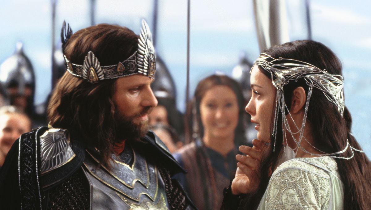 Image result for aragorn and arwen