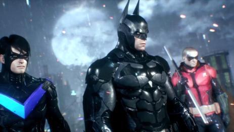 Batman Arkham Knight Nightwing and Robin