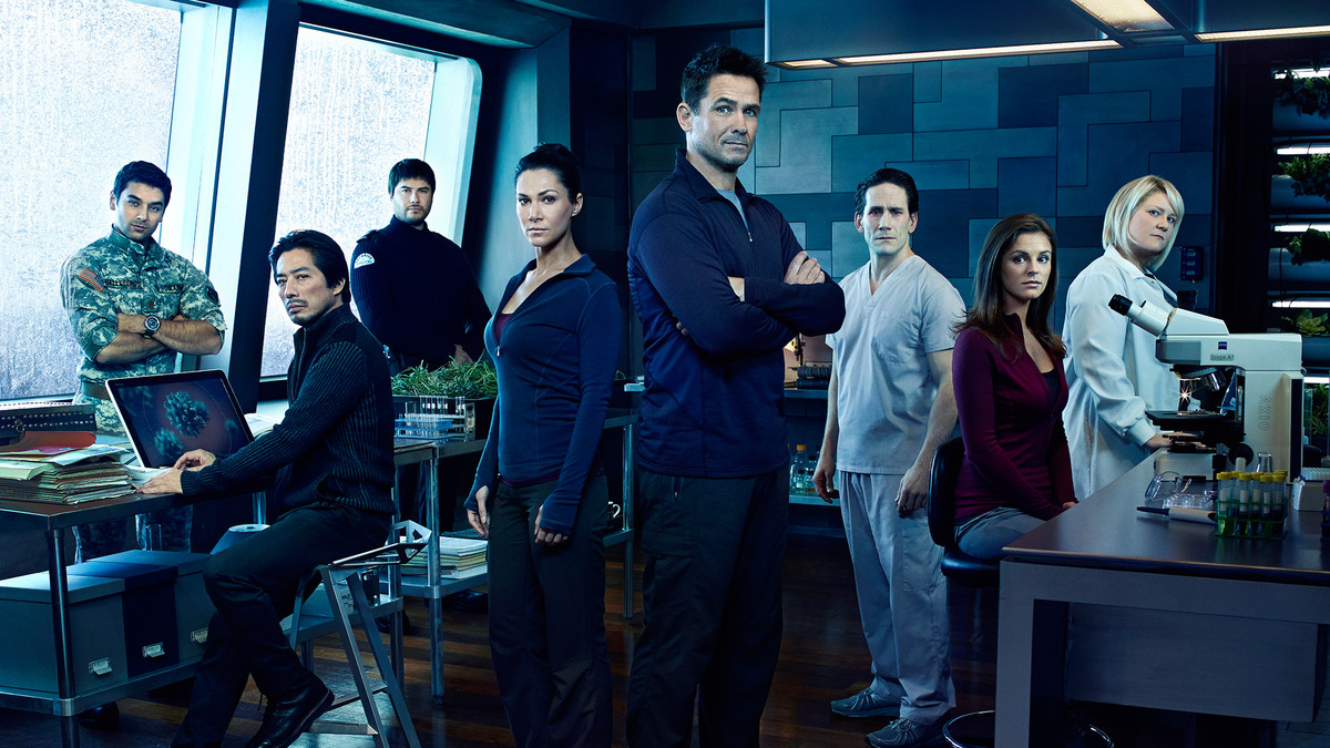 De hoofdrolspelers in het eerste seizoen van Helix