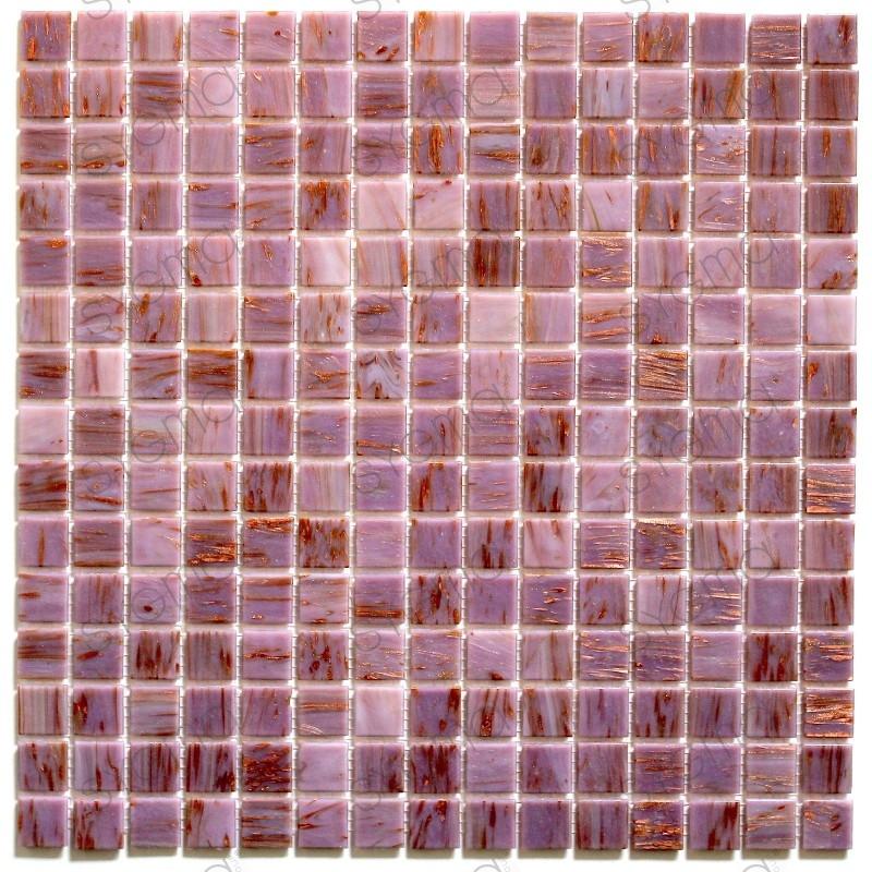 glass mosaic for shower and bathroom speculo rose