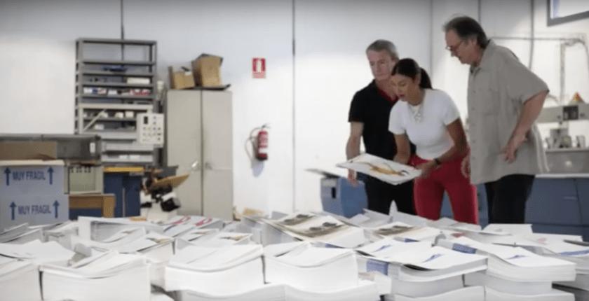 SYL apuesta por una rigurosa encuadernacion en la obra Aurea Dicta de Miquel Barcelo
