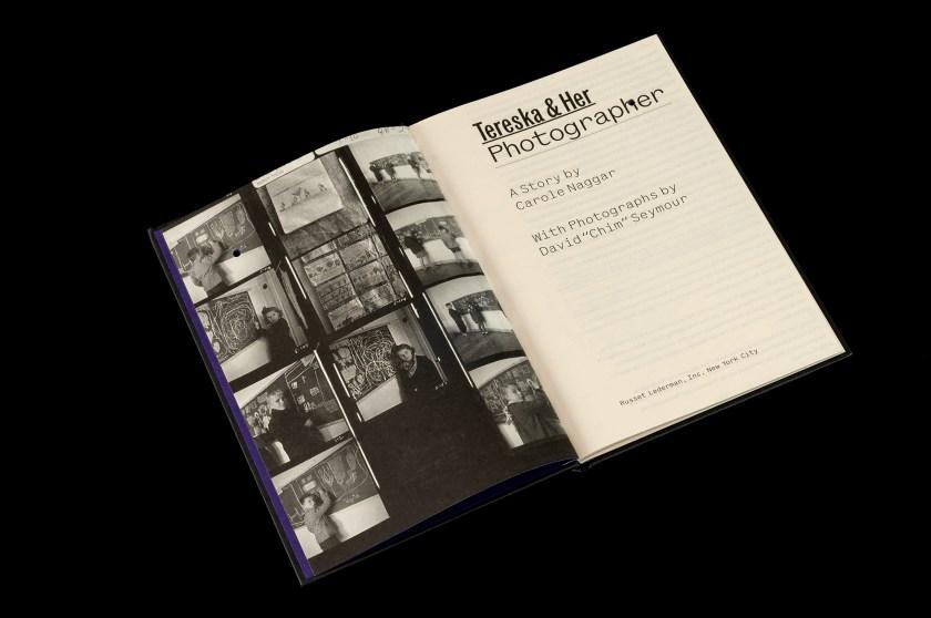 el poder de la imagen del libro Tereska her photographer a story SYL