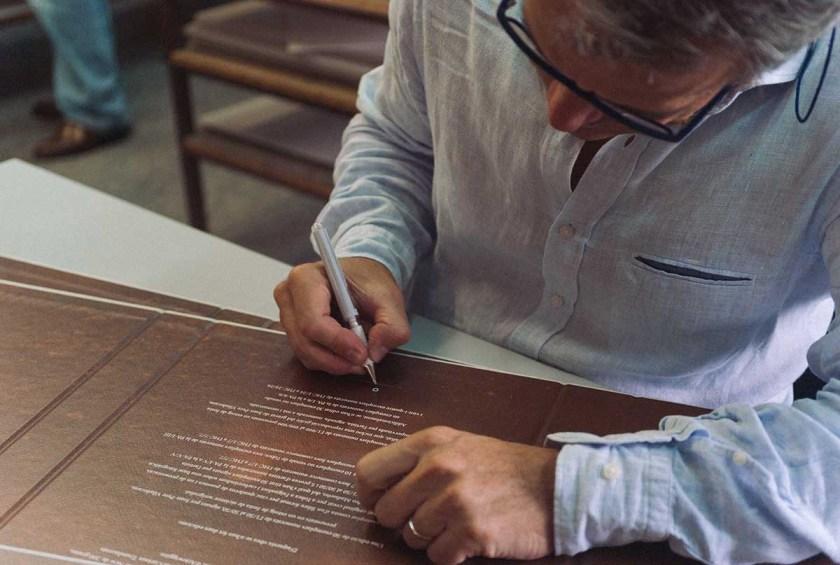 la caligrafia como signo de distincion SYL