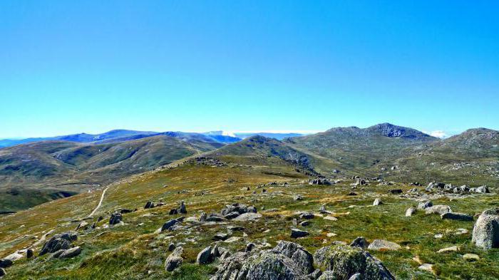 ऑस्ट्रेलिया में क्या एक पहाड़ उच्चतम है: विवरण