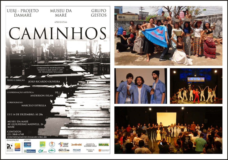Grupo Gestos - Espetáculo Caminhos - 2014