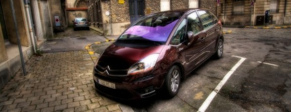 Voiture citroen picasso HDR reims