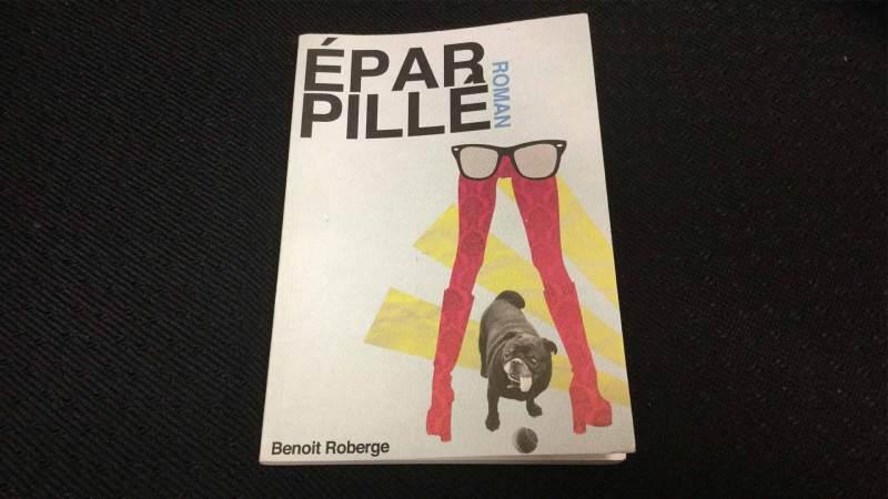 Couverture du roman Éparpillé