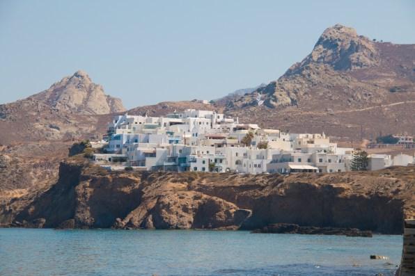 Petit quartier près de Chora, à Naxos.