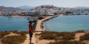 Naxos, un moment de repos.
