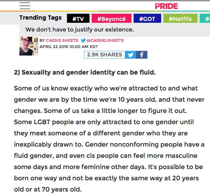 2016- Do Not Speak for Gay Males!