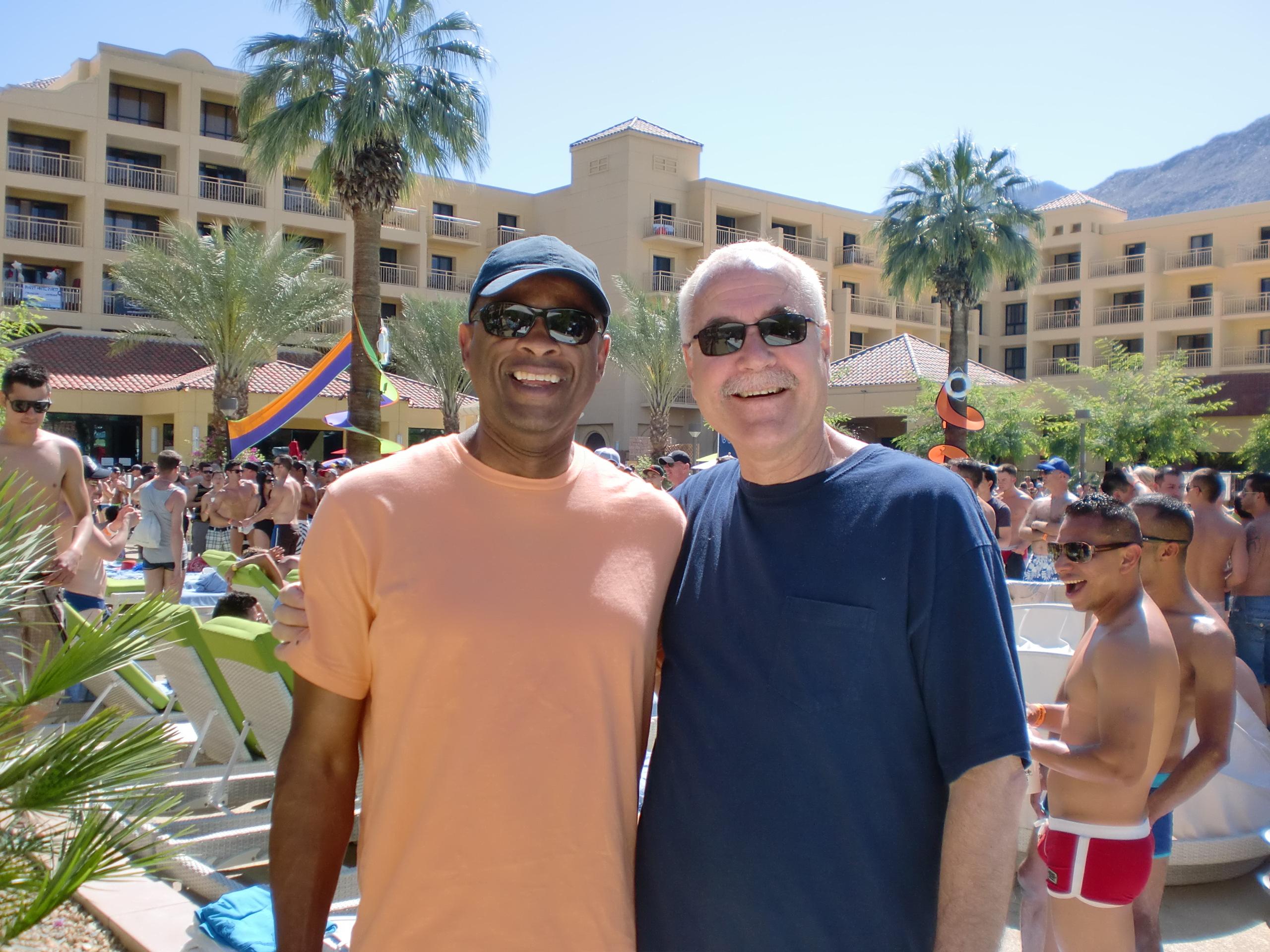 "2011-2. April- L.A., Palm Springs & ""The White Party"""