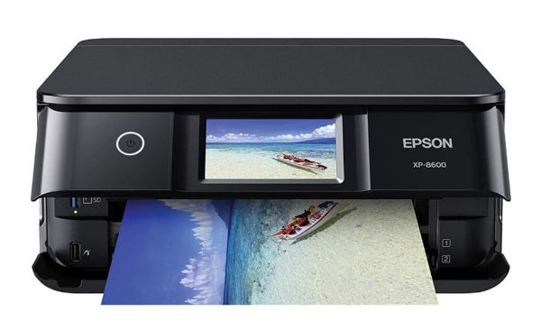 Epson Expression Photo XP-8600 Design and Layout