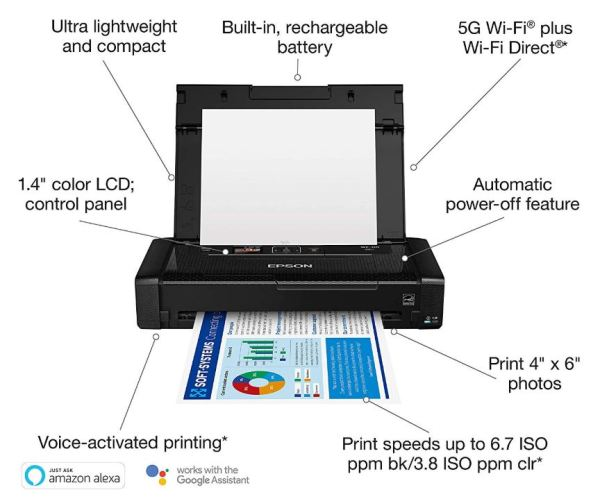 Epson WorkForce WF-110 Specs and Features