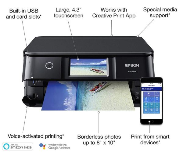 Epson XP-8600 Features