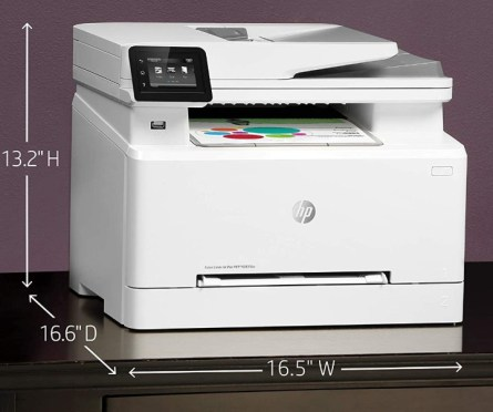 HP Color LaserJet Pro M283fdw Design